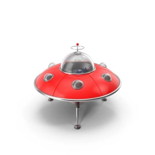 Red UFO