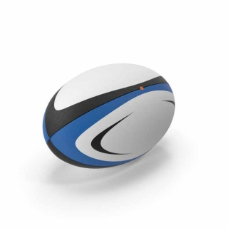 Rugby Ball Blue